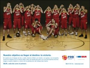 SEUR – Selección Española de Baloncesto.
