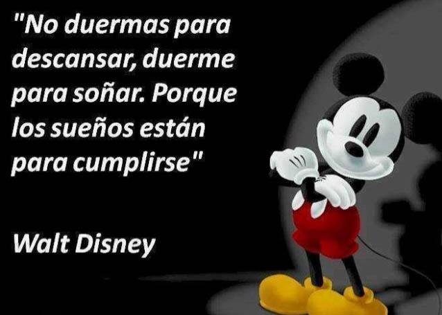sueños Walt Disney