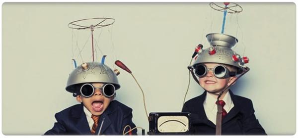 los niños usan el pensamiento creativo