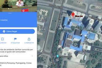Pizza Hut Corea del Norte Google Maps