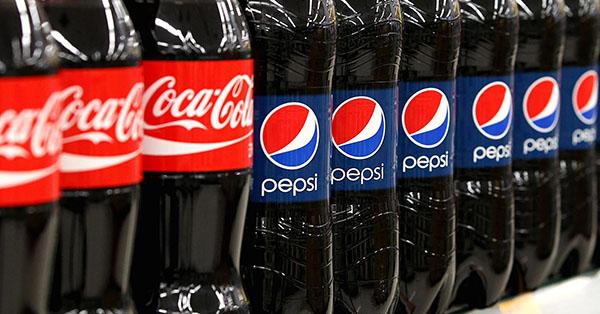 cata a ciegas Coca Cola Pepsi