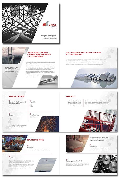 Desarrollo de Elementos Comerciales y de Venta Anda Steel