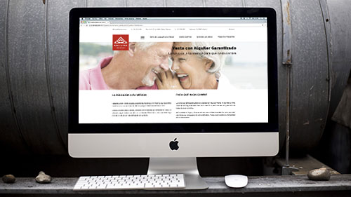 Rediseño Web Senior Finance