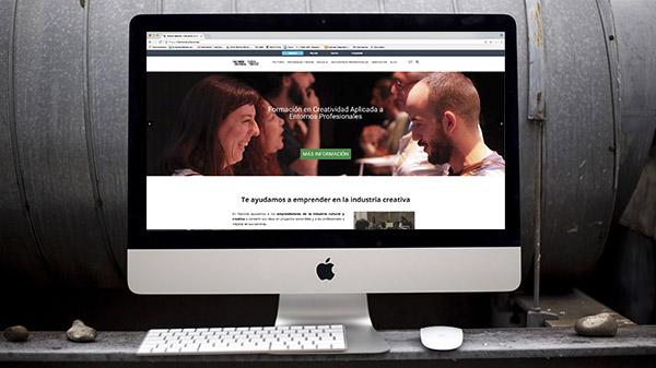 desarrollo web factoría cultural madrid