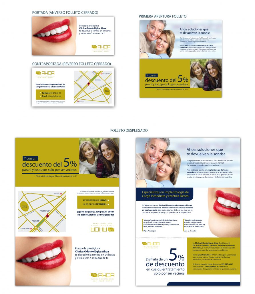 Marketing Directo Captación Cercanía Clínica Odontológica Ahoa