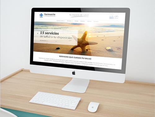 web nueva farmacia parque rioja