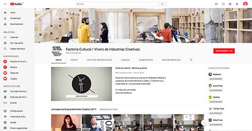 youtube factoría cultural