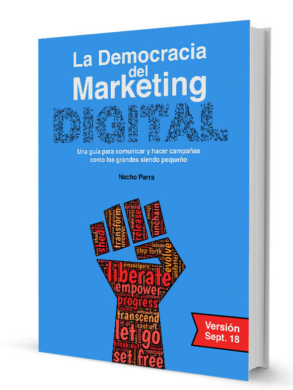 Libro, La Democracia en el Marketing Digital