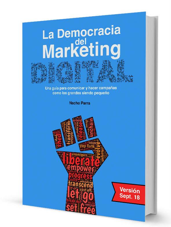 Libro, La Democracia en el Marketing Digital