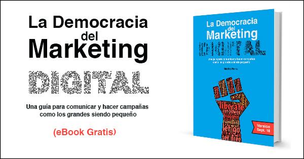 La Democracia del Marketing Digital, guía para vender más