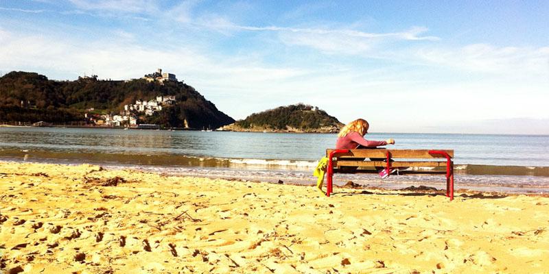 Playa de la concha donostia san sebastián