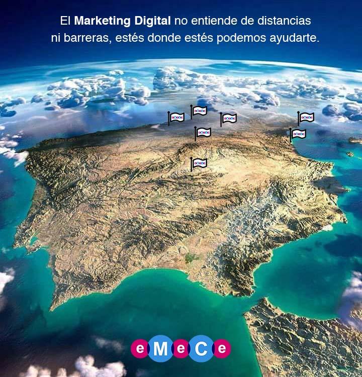 mapa clientes eMeCe marketing digital